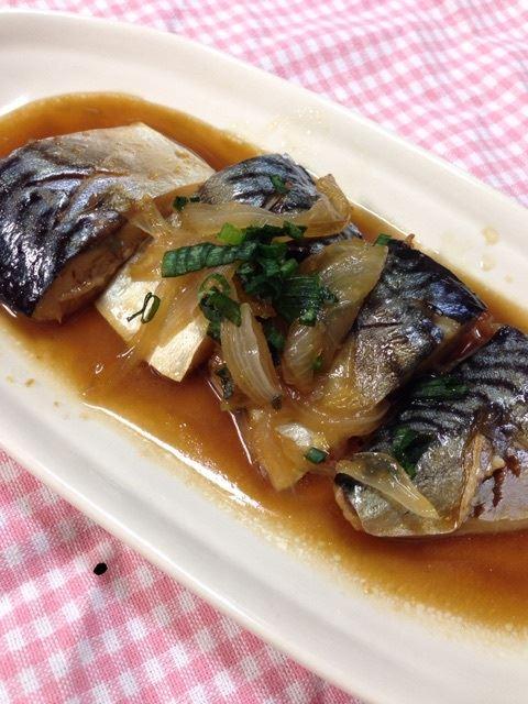 鯖の甘辛しょうが煮