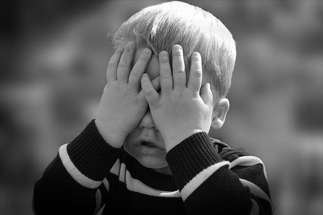 泣き止まない男の子2