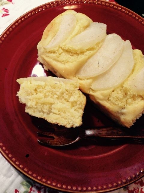 梨パウンドケーキ