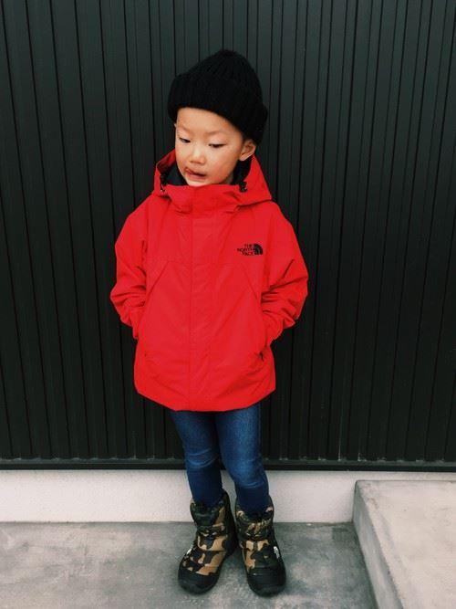 男の子の秋冬キッズコーデ画像6