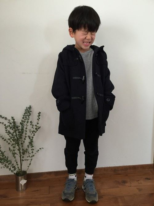 男の子の秋冬キッズコーデ画像7