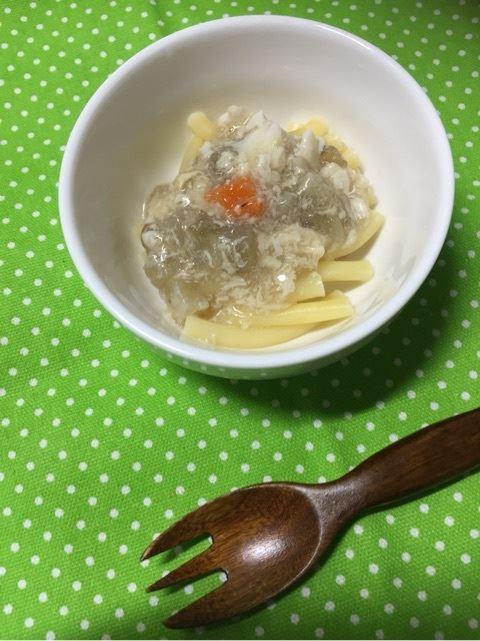 管理栄養士のおすすめする離乳食レシピ「茄子の卵とじあん」
