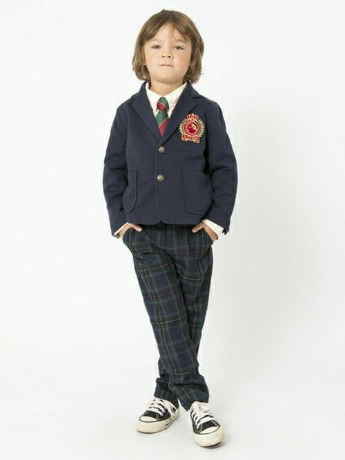 入園式・卒園式で着る男の子のキッズコーディネート画像1