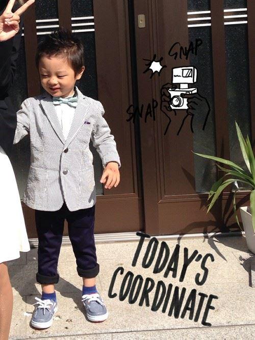 入園式・卒園式で着る男の子のキッズコーディネート画像3