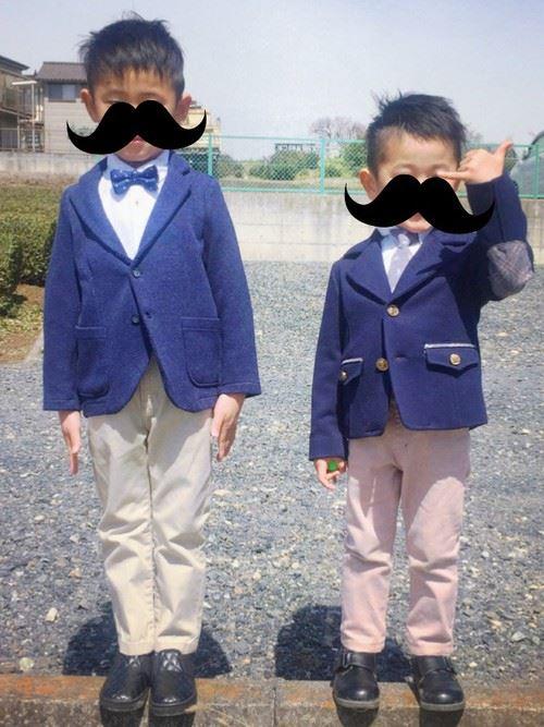 入園式・卒園式で着る男の子のキッズコーディネート画像4