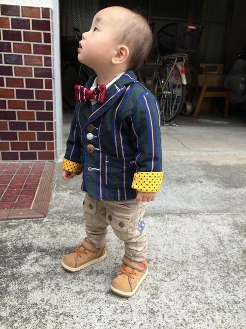 入園式・卒園式で着る男の子のキッズコーディネート画像5