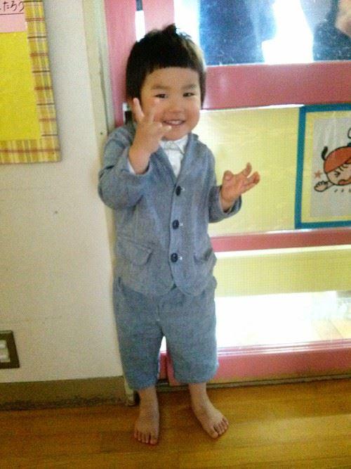 入園式・卒園式で着る男の子のキッズコーディネート画像6