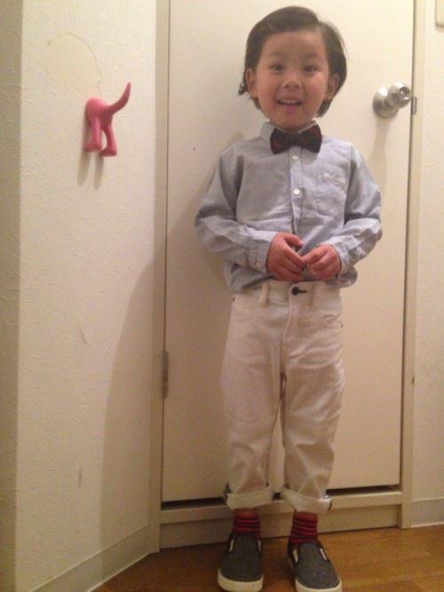 入園式・卒園式で着る男の子のキッズコーディネート画像7