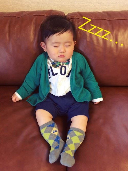 入園式・卒園式で着る男の子のキッズコーディネート画像9