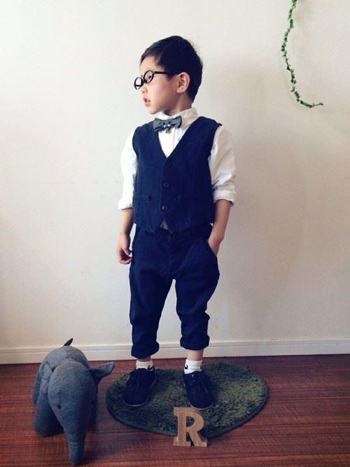 入園式・卒園式で着る男の子のキッズコーディネート画像10