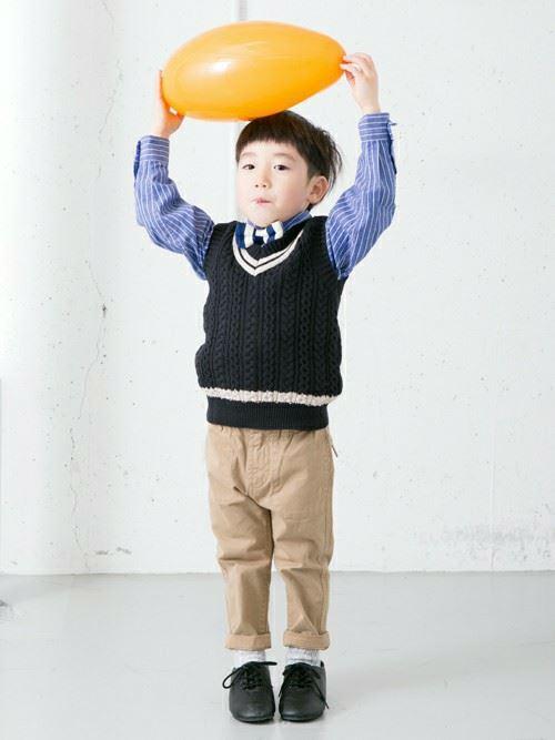 入園式・卒園式で着る男の子のキッズコーディネート画像11