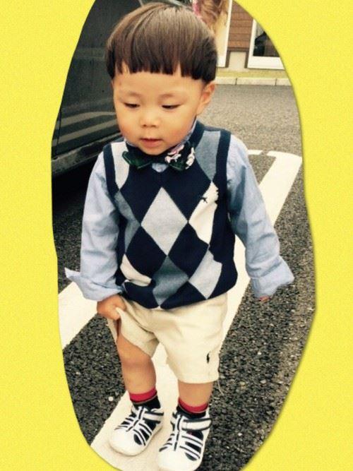 入園式・卒園式で着る男の子のキッズコーディネート画像13