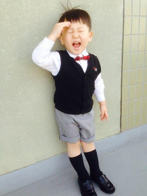 入園式・卒園式で着る男の子のキッズコーディネート画像14