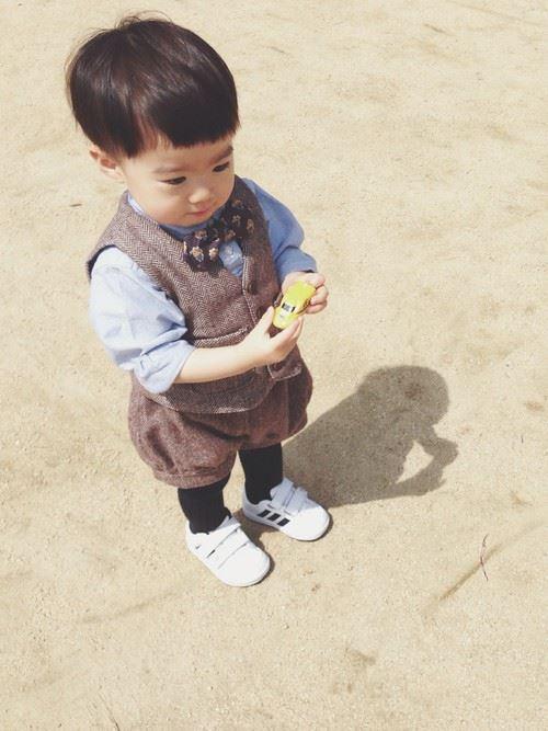 入園式・卒園式で着る男の子のキッズコーディネート画像15