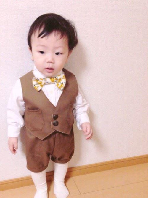 入園式・卒園式で着る男の子のキッズコーディネート画像16