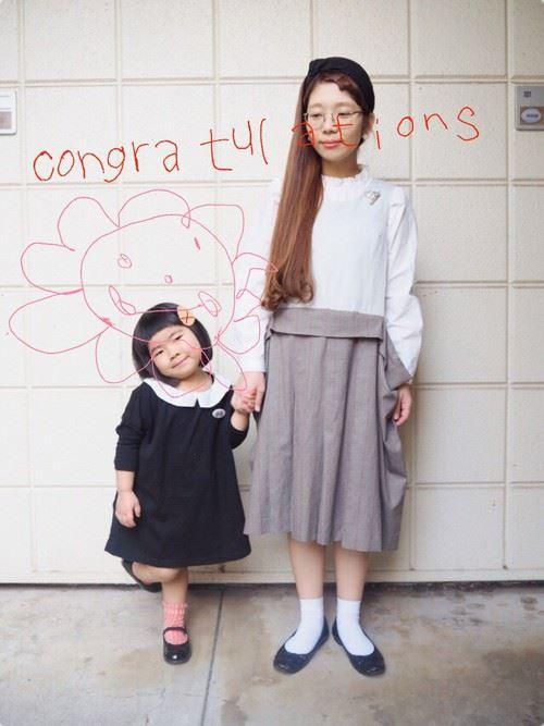 入園式・卒園式におすすめのママの服装画像20