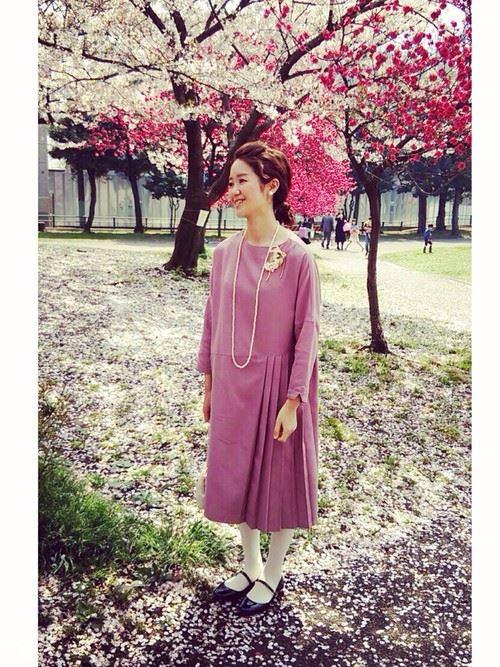 入園式・卒園式におすすめのママの服装画像23