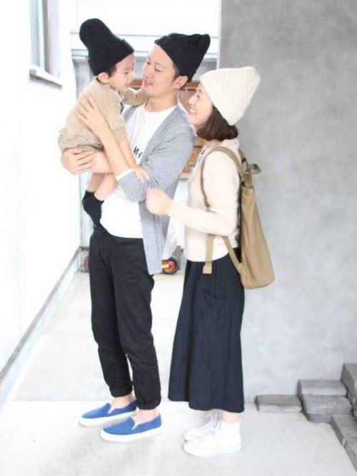 パパと子供の春夏親子コーディネートイメージ画像2