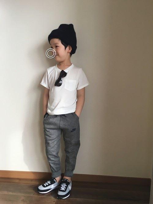 男の子のキッズウェアリスタ・公認ユーザーのコーディネート画像2