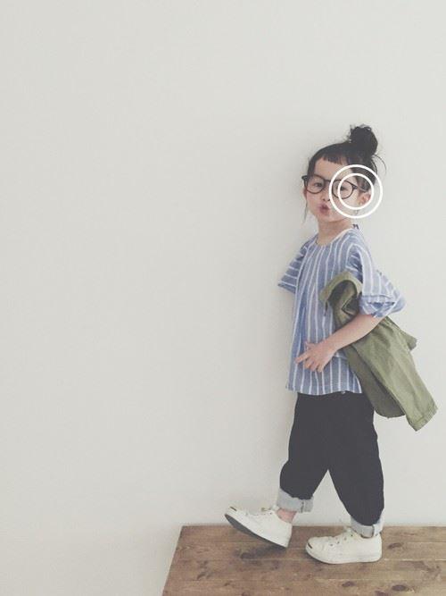 女の子のキッズウェアリスタ・公認ユーザーのコーディネート画像1