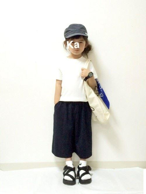 女の子のキッズウェアリスタ・公認ユーザーのコーディネート画像9